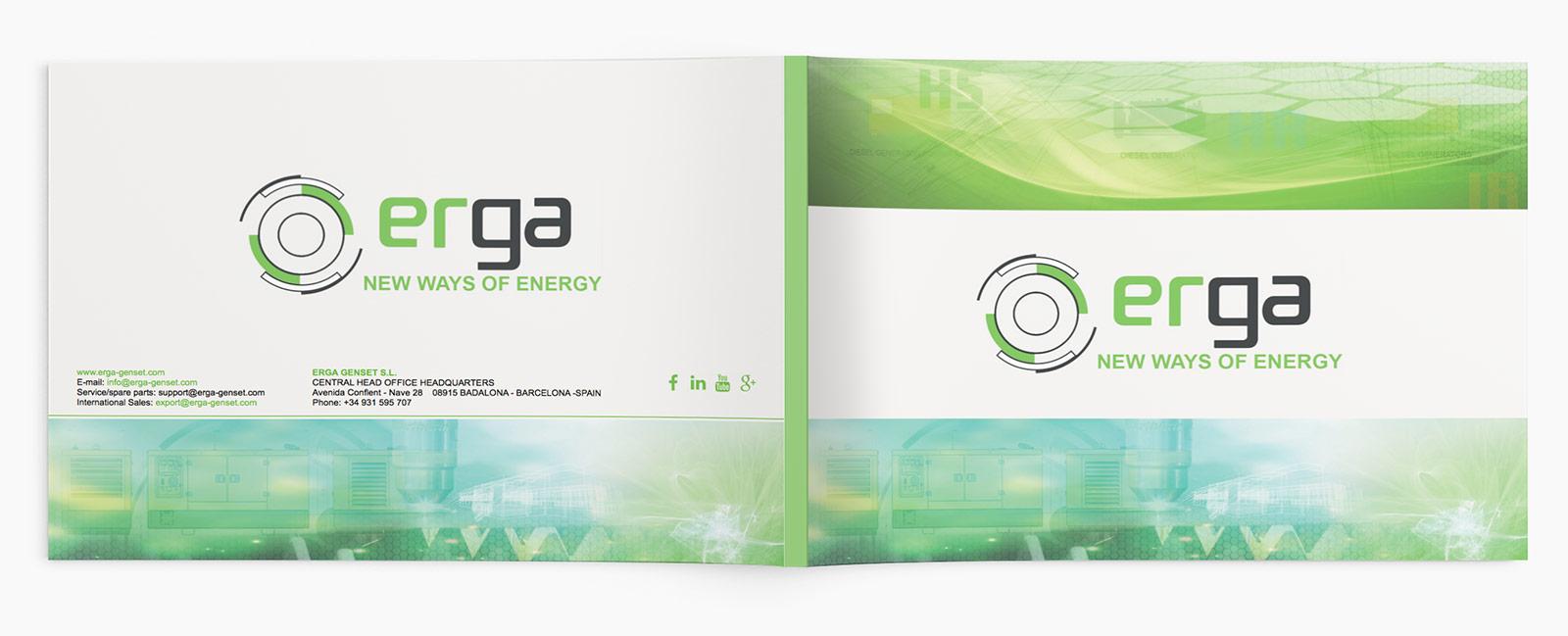 diseño gráfico publicación corporativa erga-1