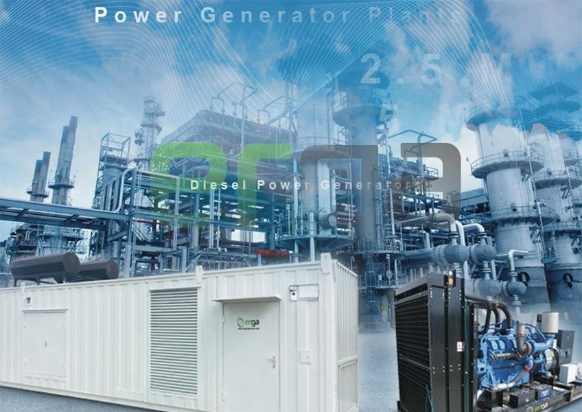 ERGA GENSET Power Generators